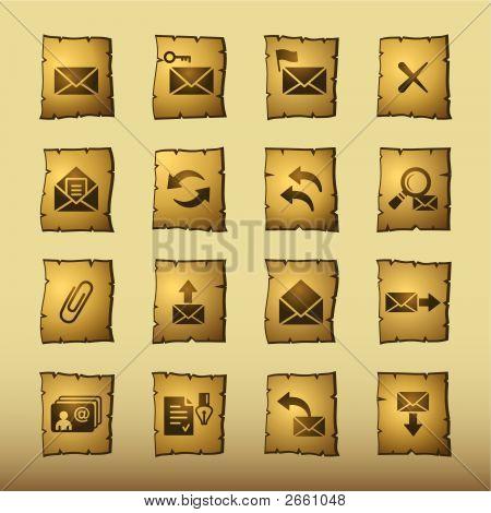 Papyrus E-Mail Icons