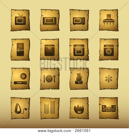 Papyrus Household Appliances Icons