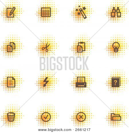 Document Icons, Dots Series