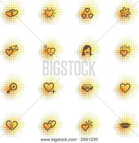 Love Icons, Dots Series