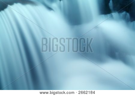 Smooth Waterfall