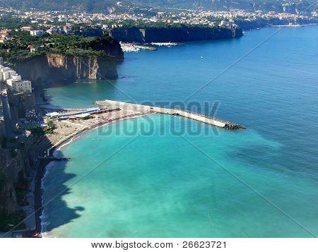 the bay of Sorrento