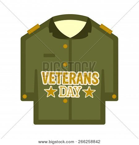Isolated Captain Uniform Veteran Day