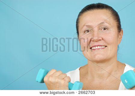 Senior Weight Lifting