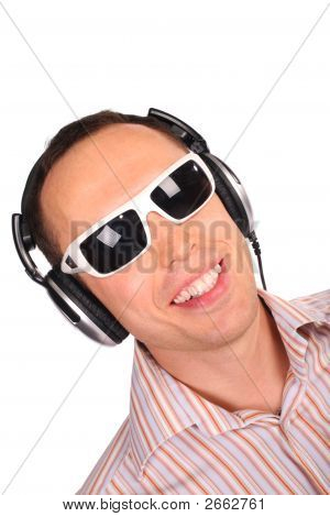 Music Man With Sunglasses