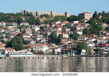 old Ohrid village under the Samoil castle, Republic of Macedonia