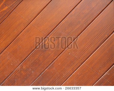 Wooden planks detail