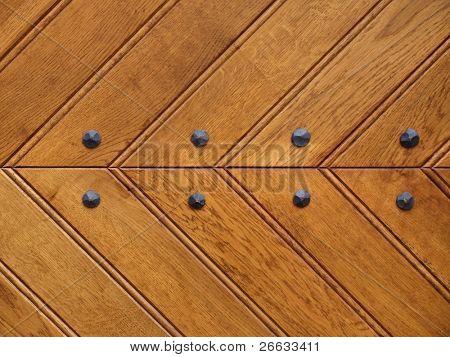 Detail of door texture