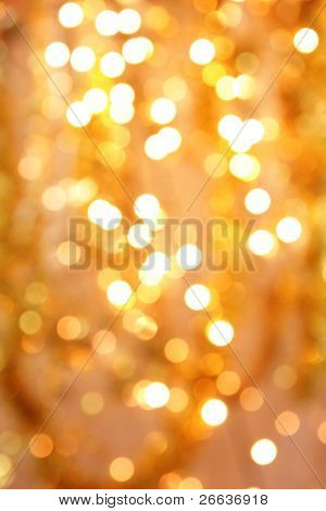 Shimmering blur background with shining lights