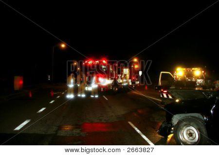 Fire Truck An Firemean