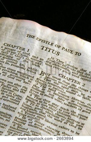 Bíblia série Tito