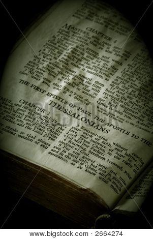 Bíblia séries Tessalonicenses sépia