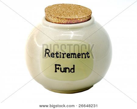 Retirement Fund jar
