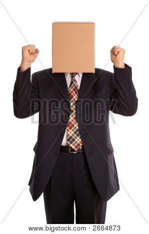 Box Man Celebration