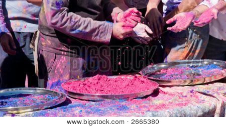 Colored Vegetable Dye