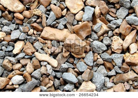 Small rocks for background