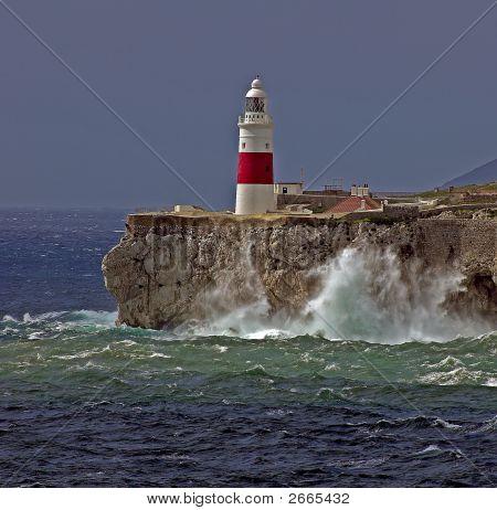 Gibraltareuropa Point Lighthouse