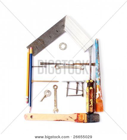 Do it yourself house concept