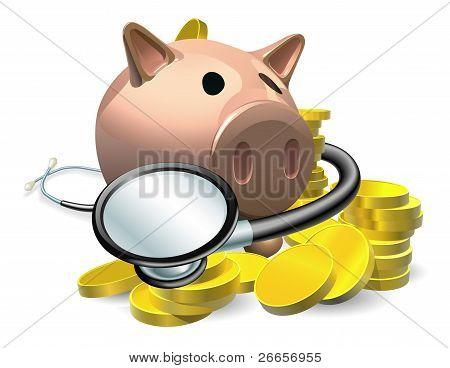Concepto de control de salud financiera