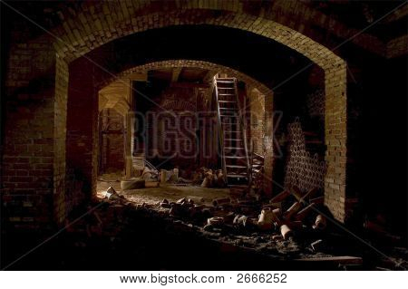 unused brick factory