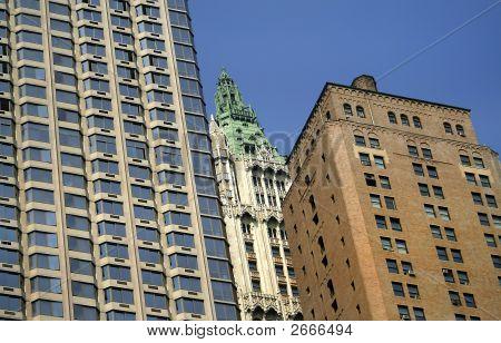 Tall Multi Story Buildings