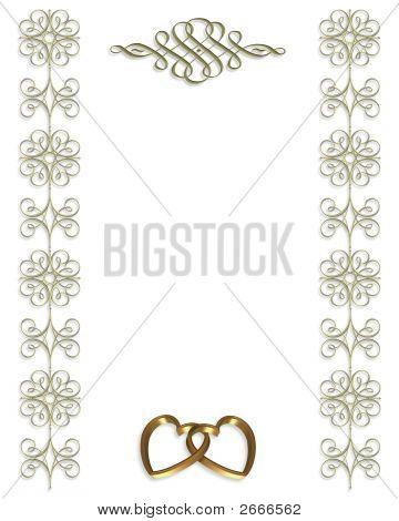 Wedding Invitation Elegant Template Stock photo
