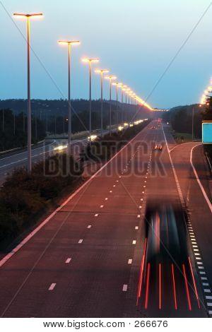 Evening Highway