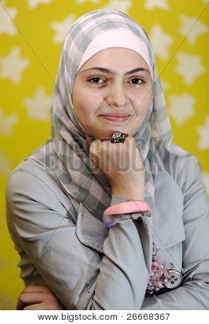 Beautiful muslim arabic girl
