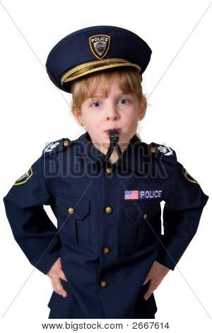 Little Whisle-Blowing Cop