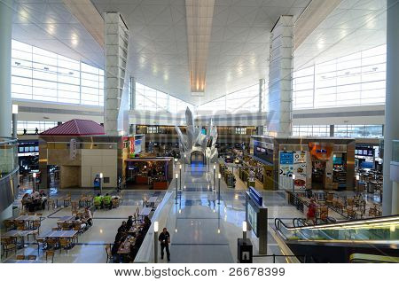 DALLAS, TEXAS - JULY 4: Dallas/Fort Worth International Airport is the third busiest airport in the world in terms of aircraft movements July 4, 2011 in Dallas, Texas.