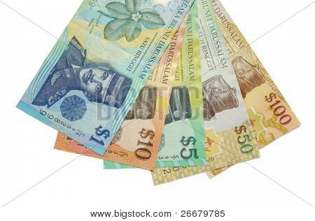 Brunei notes (Brunei currency)