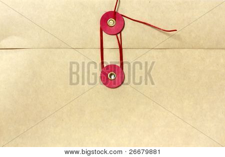Seal of kraft envelope