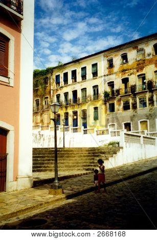 Straße der Salvator da Bahia