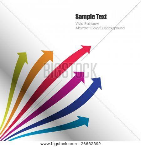 Flechas de color vector