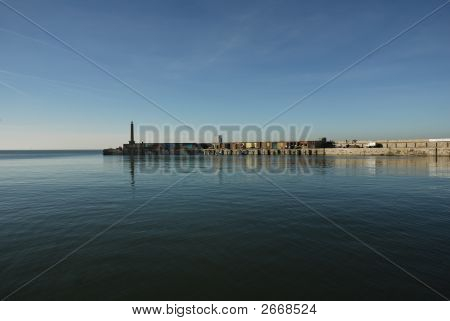 View Of Margate Harbor