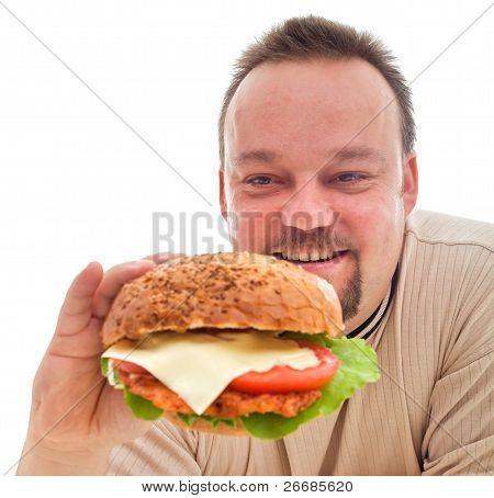 Food Addiction - Man In Denial Phase