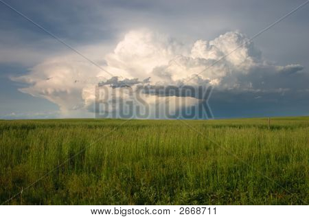 Spring Thunderstorm Over The Colorado Plains