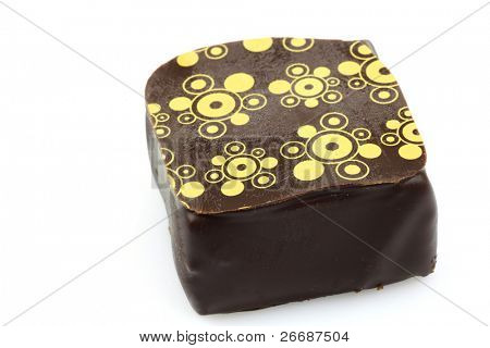 decorated luxury chocolate bonbon