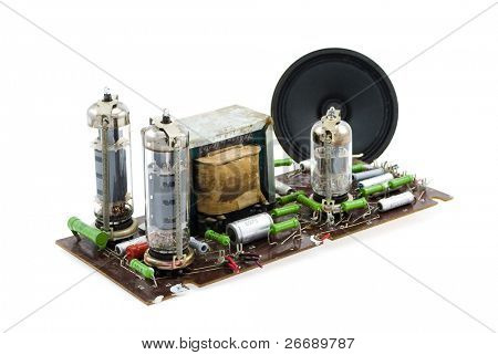vacuum tube amplifier circuit  board