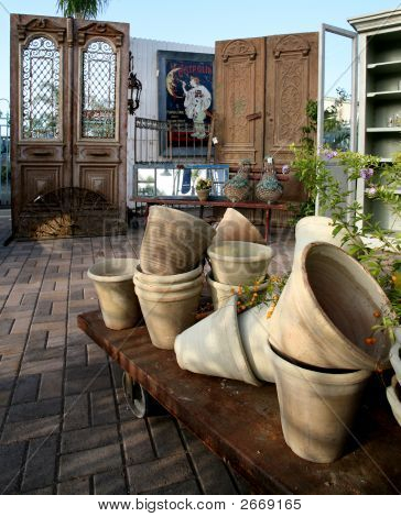 Pottery And Ironwork