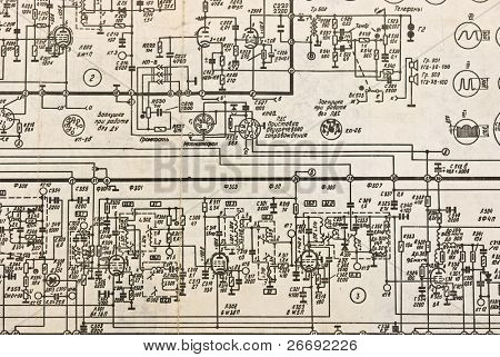 vacuum tubes electronics schematic