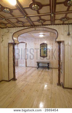 Wooden Decorated Sauna