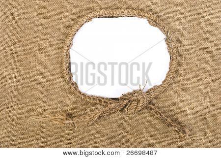 Sackcloth vintage aged background