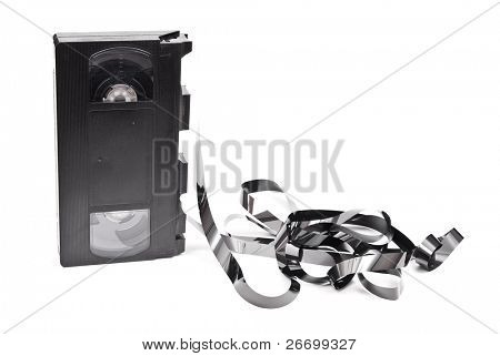 Old VCR tape