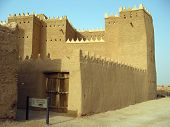 Clay fortress in Diriyah, Er Riyadh