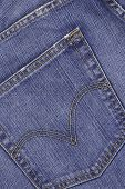 Dark Blue Jeans Pocket