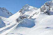 Постер, плакат: Pizol знаменитый швейцарский горнолыжный курорт