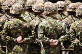 pic of cap gun  - Soldiers in camouflage - JPG