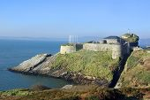 pic of u-boat  - Dunree fort guarding the approaches to Lough Swilly - JPG
