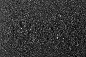background cell of plastic foam black white